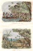 Vanuatu öarna - Avlastning av James Cook i Koro-Mango - Tanna Island