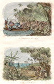 Vanuatu Islands - Unloading of James Cook in Koro- Mango - Tanna Island