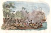 Vanuatu Inseln - Ausladen von James Cook in Tanna