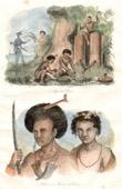 Papua-Neuguinea - Papuas Schmieden - Mann und Frau von Dore�
