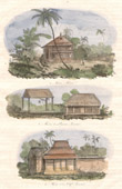 Java - Indonesia - Malayan House - House of Javanese Peasants - House of Javanese Chief