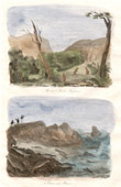 Antique print - Australia - Kangaroo Island - Seal Hunt
