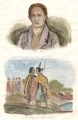New Zealand - Māori - Toupe-Koupa in England - Shongui Greetings - Traditional Costume