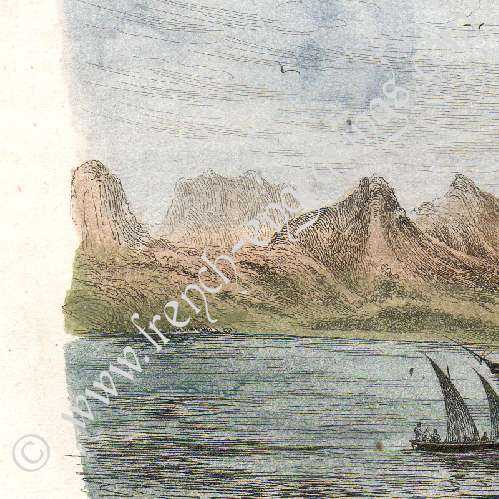 Stampe antiche stampa di isole juan fern ndez cile for Alexander isola