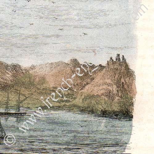 Stampe antiche isole juan fern ndez cile alexander for Alexander isola