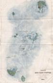 Karte von Tonga Inseln - Polynesien