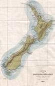 Karte von Neuseeland (Ozeanien)