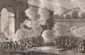 French Revolution - Mutiny in Nancy (1790) - The officer Désilles died