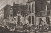 French Revolution - Sacking of the Hotel de Castries at Paris - Lameth (1790)