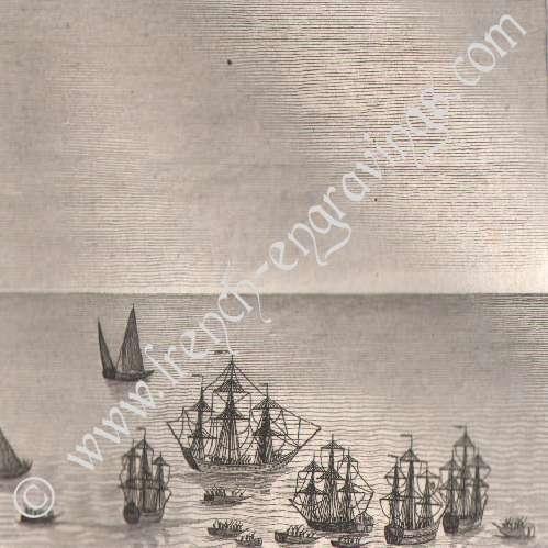 Stampe antiche rivoluzione francese campagna di olanda for Stampe di campagna francese