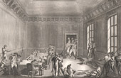 French Revolution - Robespierre Wounded in the Room of the Committee of Public Safety (1794)