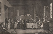 French Revolution - Interior of a revolutionary Committee (1792-1793) - Terror