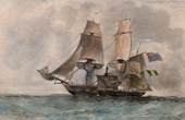 Naval Battle - French Naval Ship - French Warship - La Chaloupe Canonnière 93