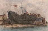 Hawaii - Last vessel of James Cook - HMS Resolution
