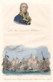 Battle of Camperdown (1797) - Batavian Republic - Great Britain - Portrait of Jan Willem de Winter (1761-1812)