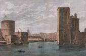 View of La Rochelle (Charente-Maritime - France) - Port