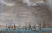 Naval Battle of Aix Roads - Battle of the Basque Roads (1809) - Napoleonic Wars - 5th Coalition