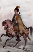 Portrait of Alexis of Russia on Horseback (1629-1676)