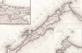Map of Alexandria Beach - Egypt - Battlefield of Canope - Ancient Egypt