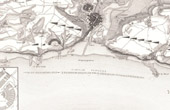 Map - Port and Camp of Boulogne - France