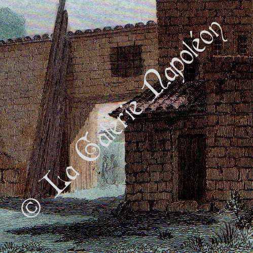 grabados antiguos vista de ankara monumentum ancyranum templo de augusto turqu a. Black Bedroom Furniture Sets. Home Design Ideas
