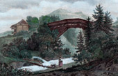 Bridge on the Kander River - Canton of Berne (Switzerland)