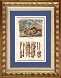 Polynesische Mythologie - Toupapau - Göttlichkeit von Tahiti