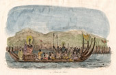 Pacific Islands - Boat - Pirogue - Fleet of Tahiti