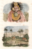 Marquesas Islands - Chief of Tao Wati - Valley of Nouka Hiva