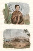 Kau Ike Ouli King of Hawaii - Chapel and Palace of Governor Oahou