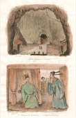 Subterran Pagode zu Touranne - Kaiser f�r Cochinchina - Abgeordnete f�r Kambodscha