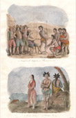 Madagascar - Obedience of the Malagasies to Flacourt in 1652 - Seclave Woman - Hovas man