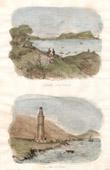 Rocher de Gibraltar - Gibraltar - C�t� de l'Ouest - Espagne - Phare de Tarifa