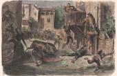 Bullfighting - Tauromachy - Corrida in Spain - Torero - Novillos - Novillada de lugar (Gustave Doré)