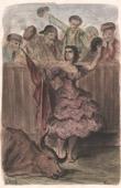 Teresa Bolsi andalusian Torera - Corrida - Bullfighting - Tauromachy - Torero (Spain)