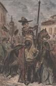 Pikador Calderón - Stierkampf - Porträt zu Pferde (Spanien)