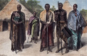 Costumes - Traditions - Natives of Ou-Nyoro (Sudan)