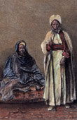 Costumes - Traditions - Kadi of Khartoum and Sheikh of Hadendoa - Egypt - Sudan