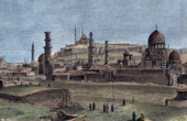 View of the Cairo - The Saladin Citadel of Cairo - Medieval (Egypt)