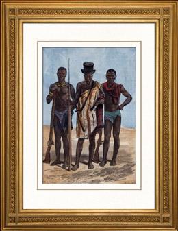 Trachten - Traditionen - Felupes Ethnische Gruppe - Diola - Senegal - Guinea-Bissau - Westafrika