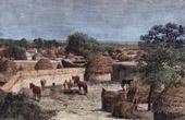 Sikte av Wurno (Nig�ria - V�stafrika)