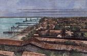 Sikte av Lagos (Nigeria - V�stafrika)