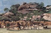 Klippblock i Abeokuta (Nigeria - V�stafrika)