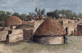 View of Sokoto (Nigeria - Africa)