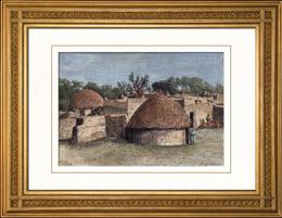 Sikte av Sokoto (Nigeria - Afrika)