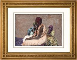 Dr�kter - Traditioner - Fillani eller Fulah (Tchad  - Centralafrika)
