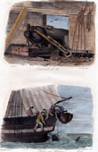 Naval Battle - Boat - Sailboat - French Vassel - Canon 12 - Shark Fishing