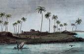 Stich von Feste Wilhelm's von Nassau - Festung Principe da Beira - Costa Marques - Rondônia (Brasilien)