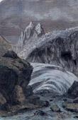 Arveyron - Torrent e- Mer de Glace - Glacier des Bois - Mont Blanc - Monte Bianco - Chamonix - Haute-Savoie (France)