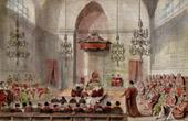 Gravures anciennes gravures de chambre des lords - Chambre des lords angleterre ...